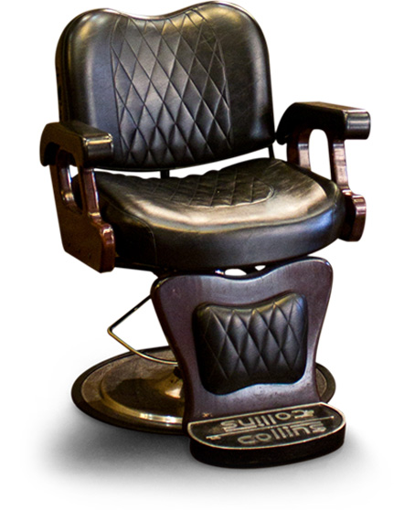 Barber Chair For Haircut In Boston Shop